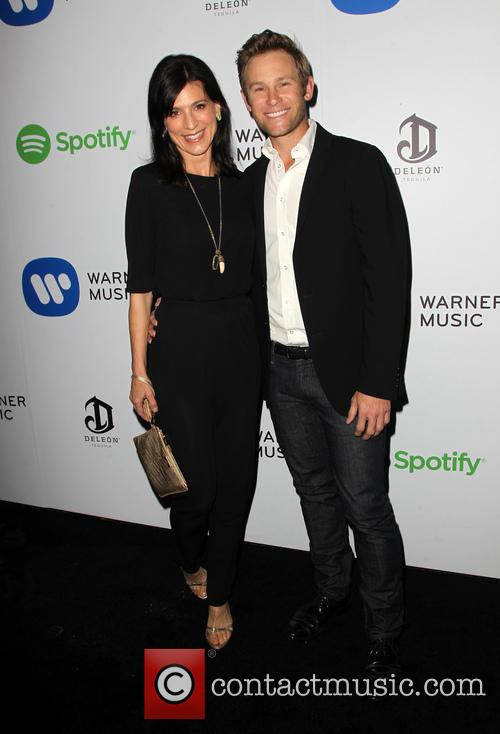 Perrey Reeves and John Musser 2