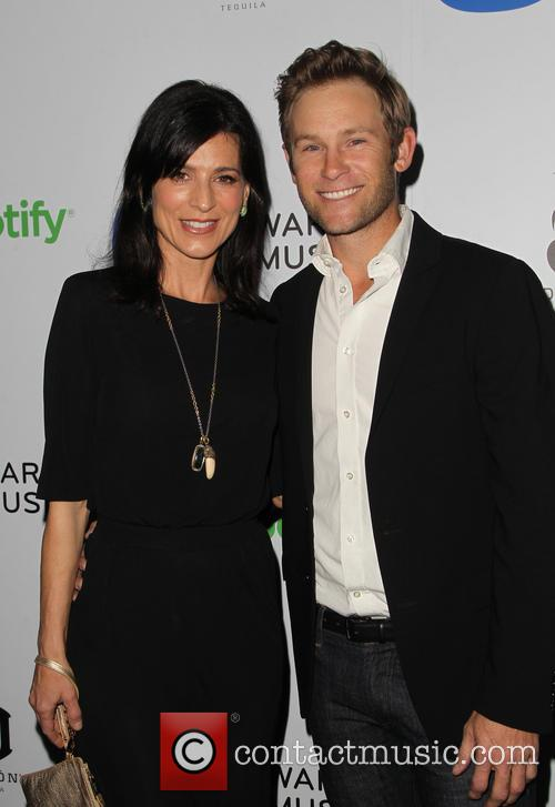 Perrey Reeves and John Musser 6