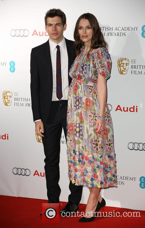 Keira Knightley and James Righton 2