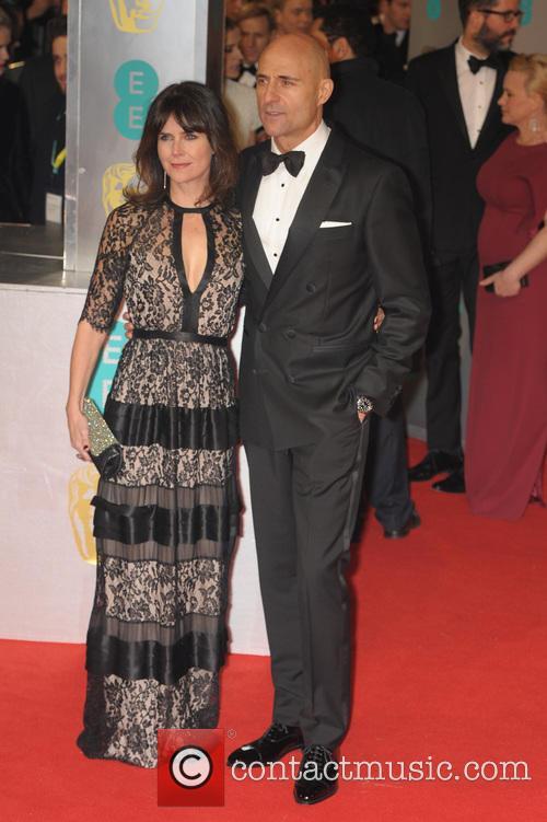 Mark Strong and Liza Marshall