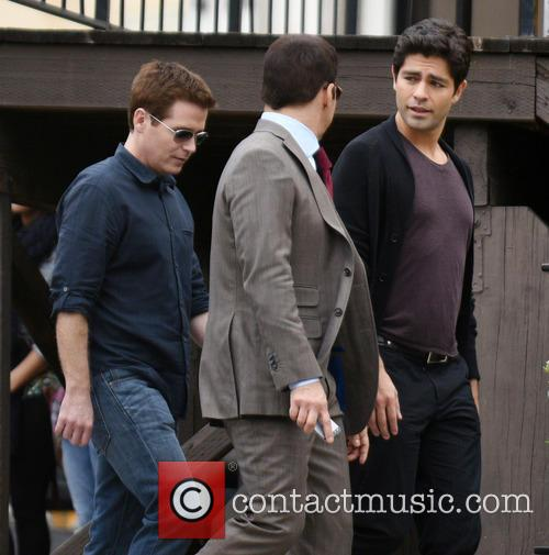 Kevin Connolly, Jeremy Piven and Adrian Grenier 7
