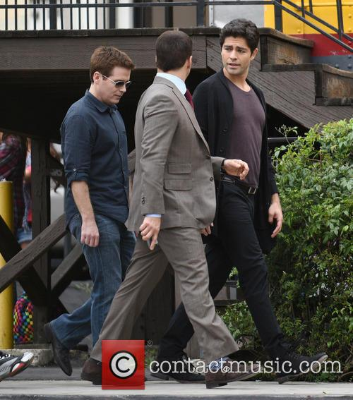 Kevin Connolly, Jeremy Piven and Adrian Grenier 8