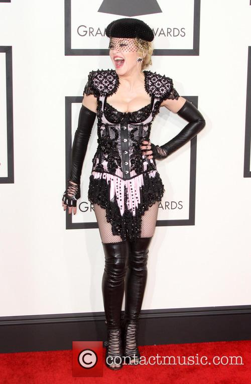 Madonna at the 57th Grammy Awards