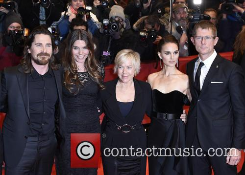 Christian Bale, Sibi Blazic and Natalie Portman 2