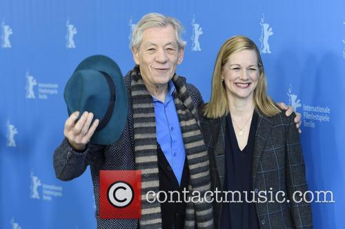 Sir Ian Mckellen and Laura Linney 11