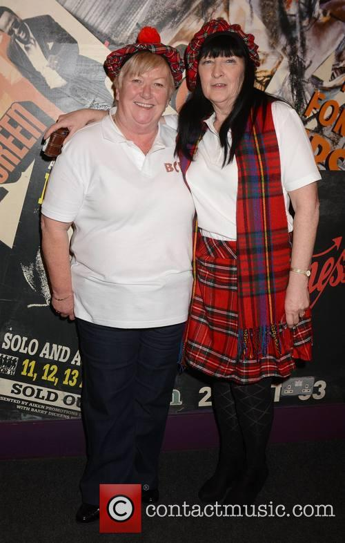Bay City Rollers, Marion Everitt and Rosena Tuite 2