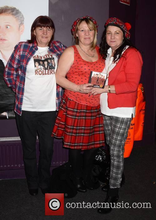 Bay City Rollers, Marion Tuite, Brenda Tuite and Mary Tuite 1
