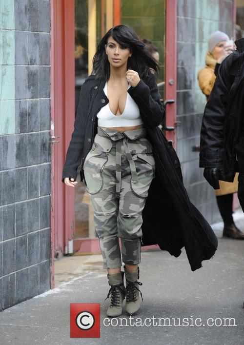 Kim Kardashian out and about in New York
