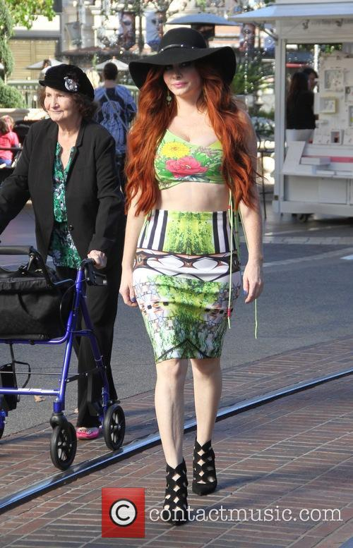 Phoebe Price goes shopping at The Grove