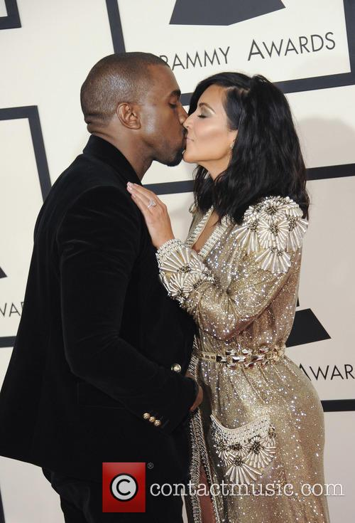 Kim Kardashian and Kenye West 3