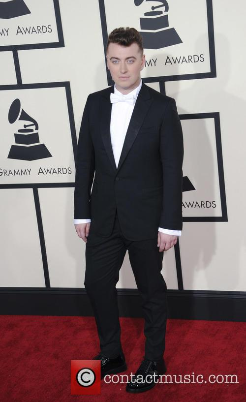 Sam Smith at 2015 Grammys