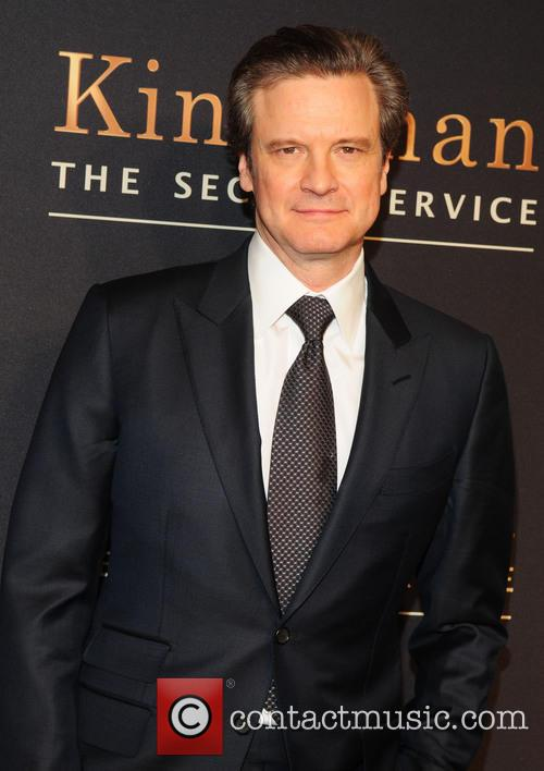 Colin Firth at Kingsman New York premiere