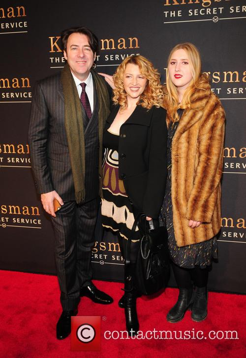 Johnathan Ross, Jane Goldman and Honey Kinney Ross