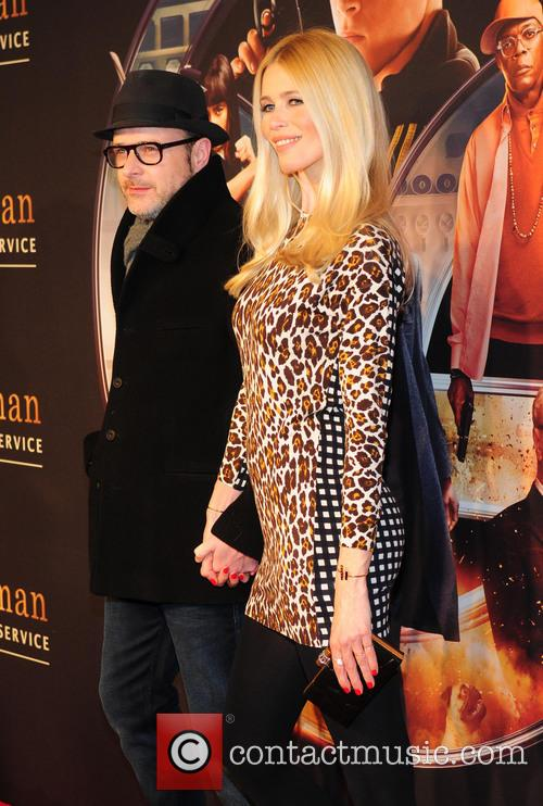 Matthew Vaughn and Claudia Schiffer 1