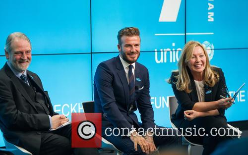 David Beckham, David Bull and Kirsty Young 3