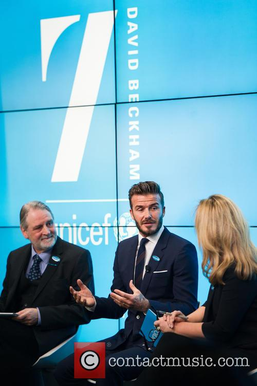 David Beckham, David Bull and Kirsty Young 8