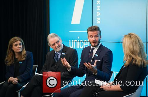 David Beckham, David Bull, Paloma Escudero and Kirsty Young 5