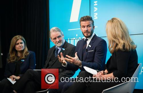 David Beckham, David Bull, Paloma Escudero and Kirsty Young 7