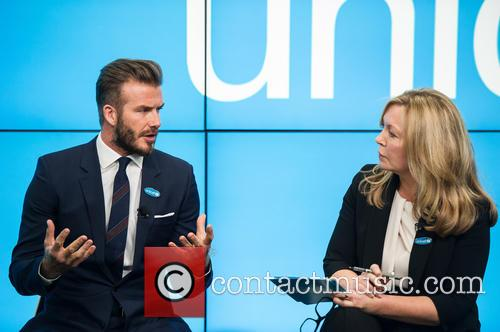 David Beckham and Kirsty Young 9