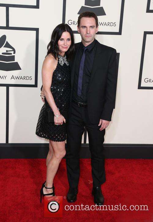 Courteney Cox and John Mcdaid 1