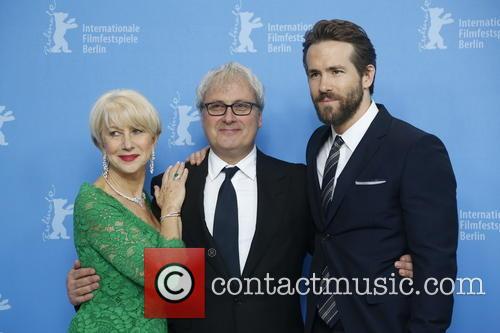 Helen Mirren, Director Simon Curtis, Ryan Reynolds and Berlin 6