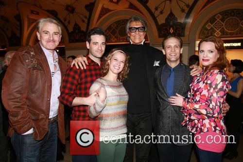 Douglas Sills, Colin Donnell, Patti Murin, Tommy Tune, Danny Gardner and Jennifer Laura Thompson 5