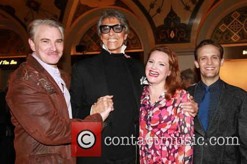 Douglas Sills, Tommy Tune, Jennifer Laura Thompson and Danny Gardner 1
