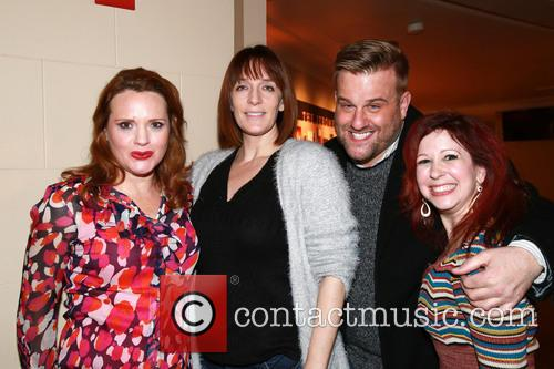 Jennifer Laura Thompson, Julia Murney, Stephen Wallem and Kirsten Wyatt