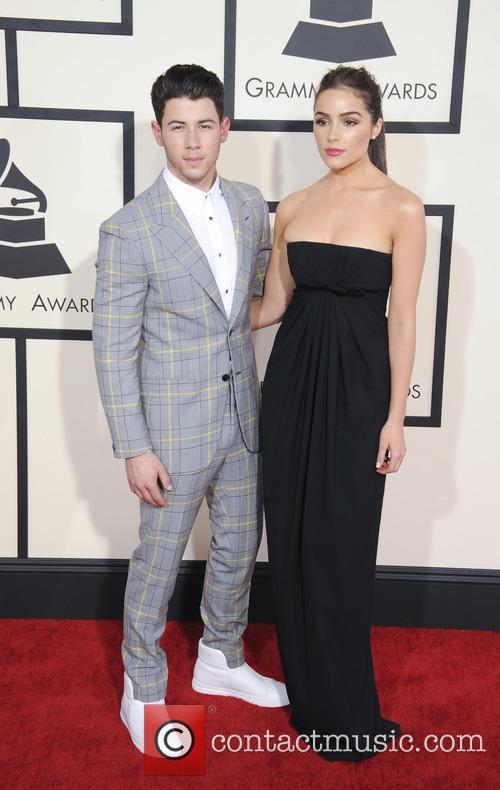 Nick Jonas and Olivia Culpo 2