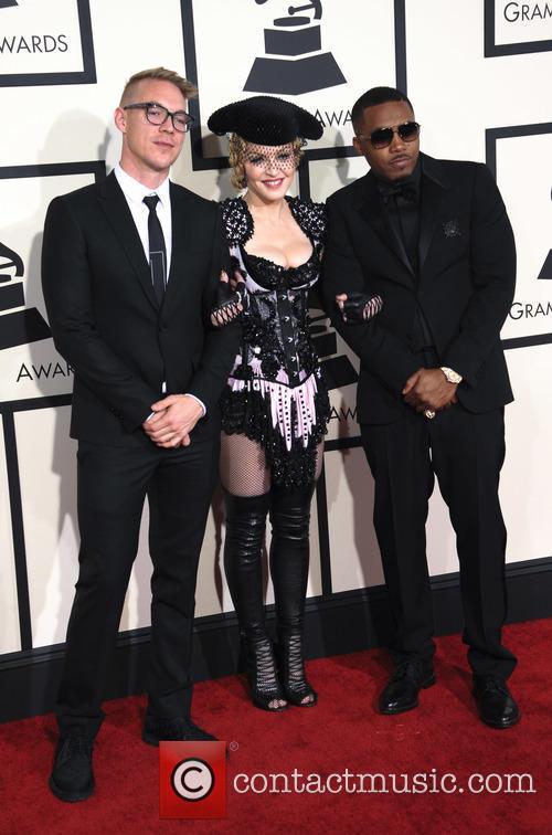 Diplo, Madonna and Nas 6