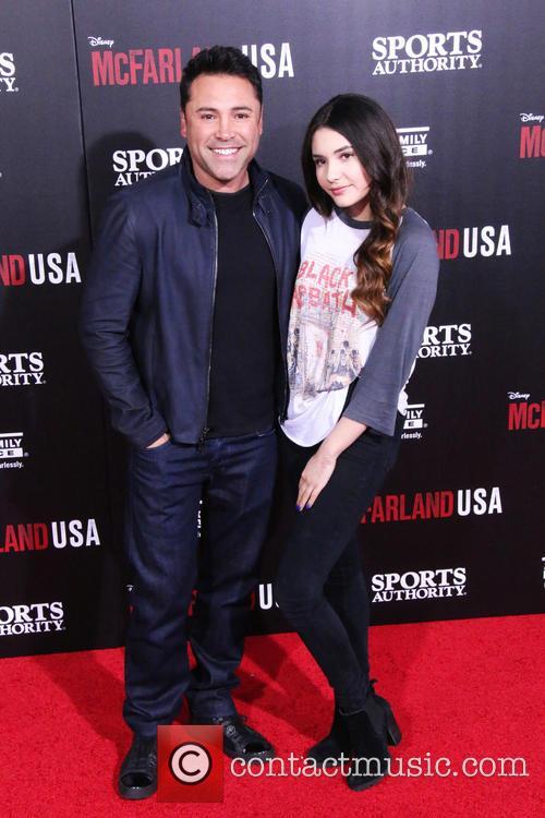 Oscar De La Hoya and Atiana De La Hoya 3