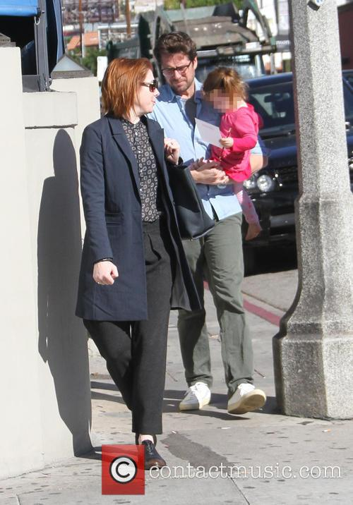 Alyson Hannigan, Alexis Denisof and Keeva Denisof 3