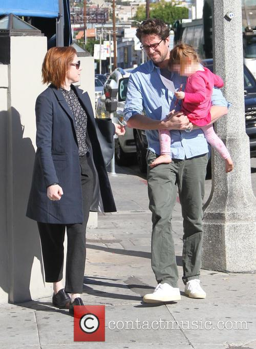 Alyson Hannigan, Alexis Denisof and Keeva Denisof 7