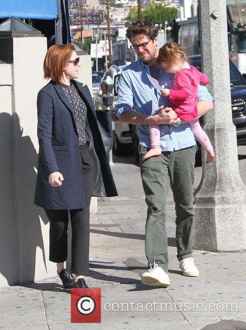Alyson Hannigan, Alexis Denisof and Keeva Denisof 8