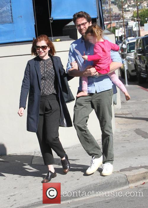 Alyson Hannigan, Alexis Denisof and Keeva Denisof 9