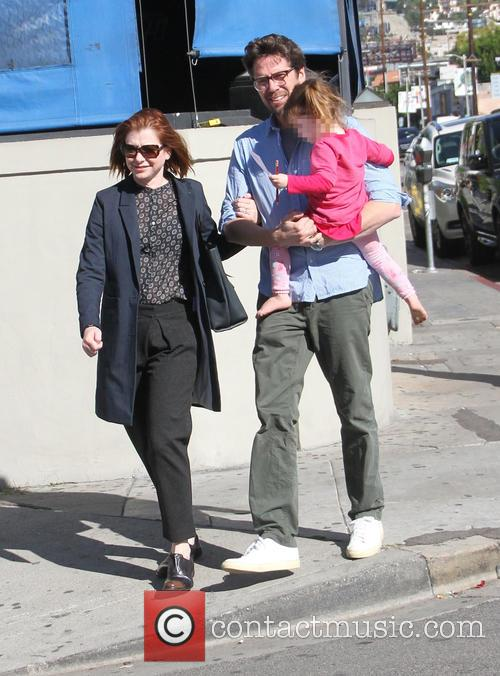 Alyson Hannigan, Alexis Denisof and Keeva Denisof 10