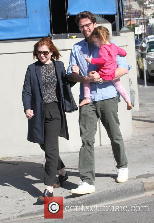 Alyson Hannigan, Alexis Denisof and Keeva Denisof 11