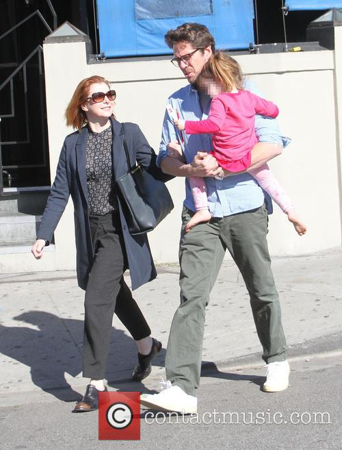 Alyson Hannigan, Alexis Denisof and Keeva Denisof 1