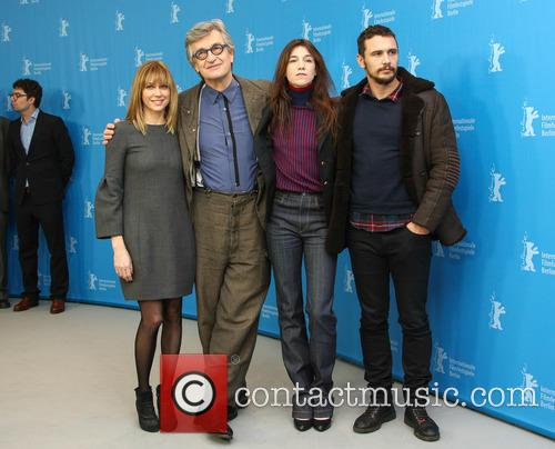 Wim Wenders, Charlotte Gainsbourg, James Franco and Marie-josée Croze 7