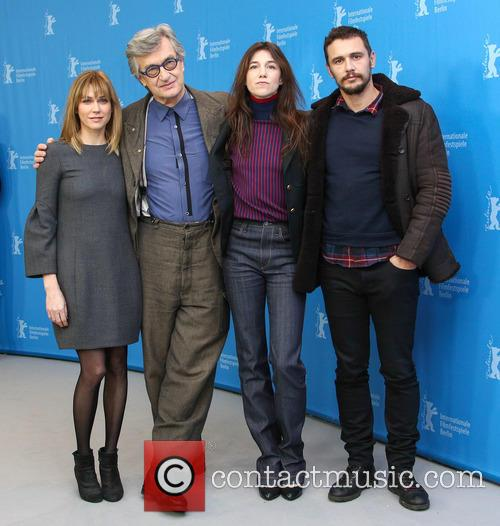 Wim Wenders, Charlotte Gainsbourg, James Franco and Marie-josée Croze 8