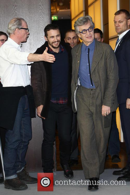 Wim Wenders and James Franco 1