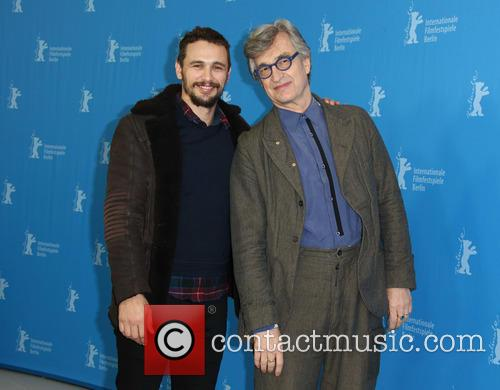 Wim Wenders and James Franco 11