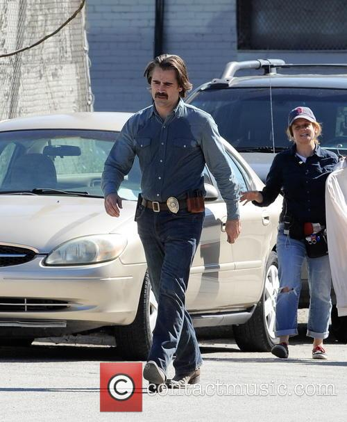 Colin Farrell and Rachel McAdams spotted on the...