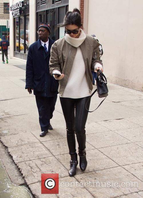 Hailey Baldwin and Kendall Jenner spotted in SoHo