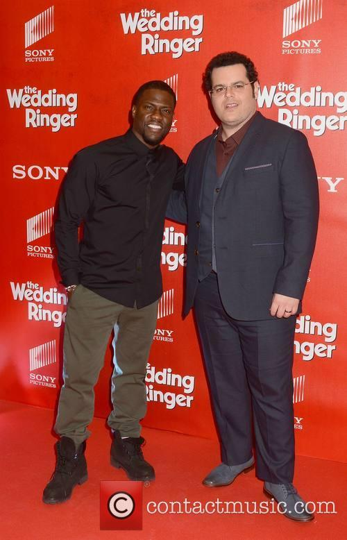 Kevin Hart and Josh Gad 5