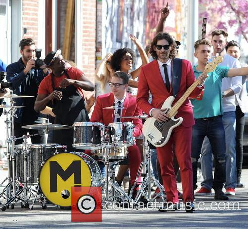 Canadian band Magic! filming their new music video...