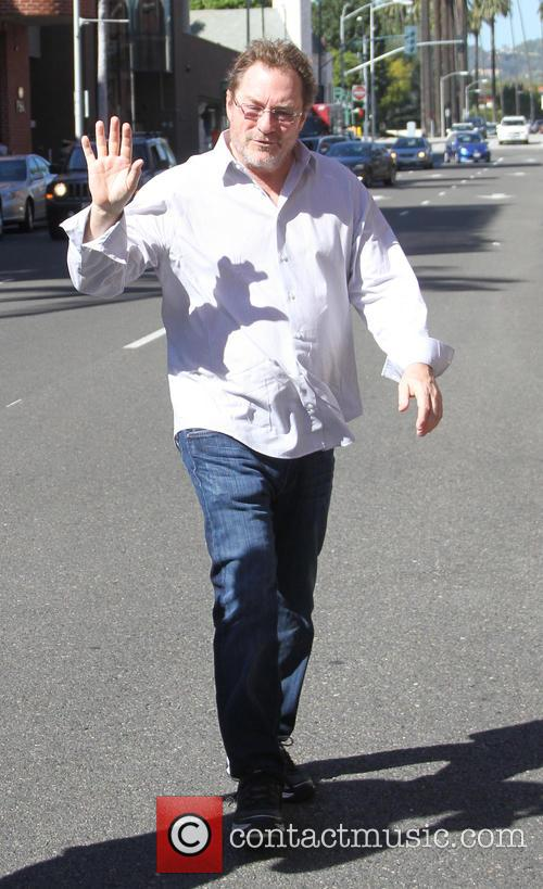 Stephen Root goes shopping in Beverly Hills