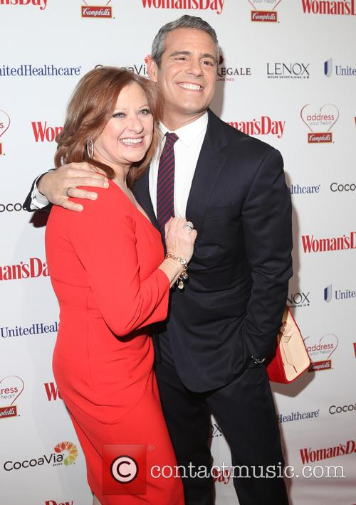 Caroline Manzo and Andy Cohen 2