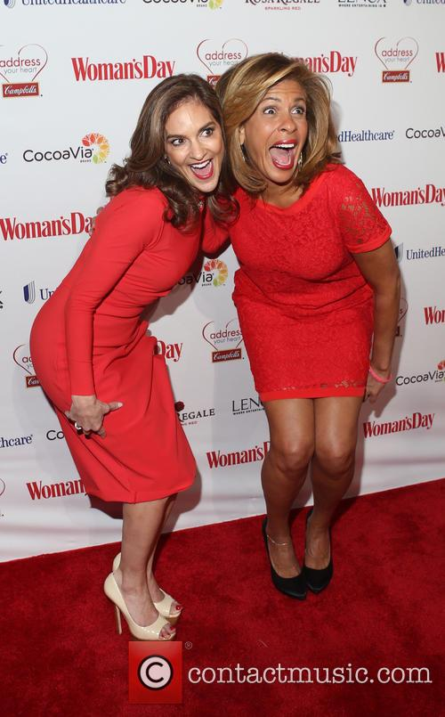 Joy Bauer and Hoda Kotb 2