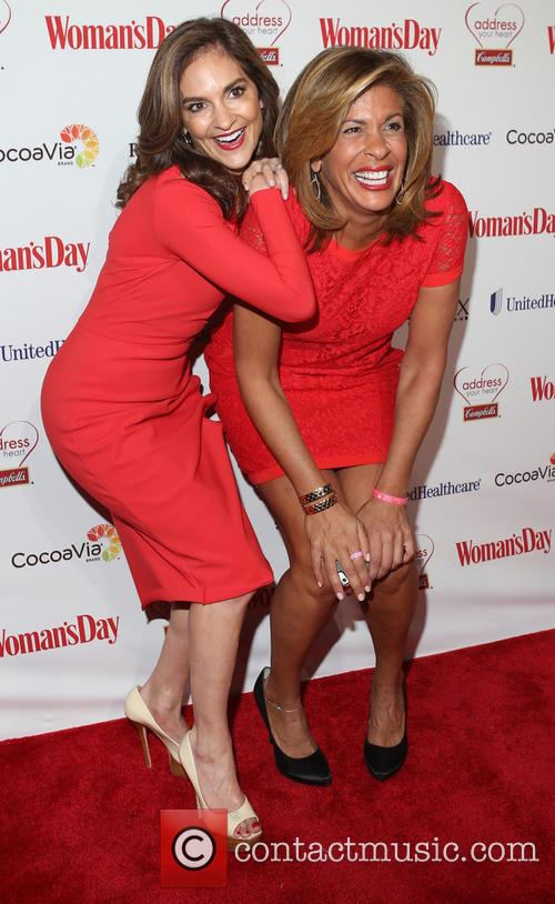 Joy Bauer and Hoda Kotb 1